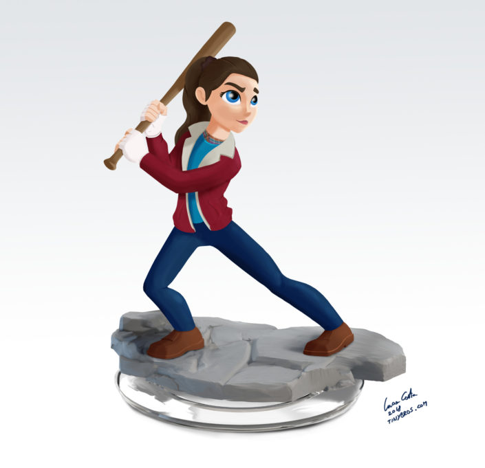 Nancy Wheeler, Disney Infinity Style